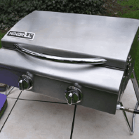 Barbeque- 2 burner table top